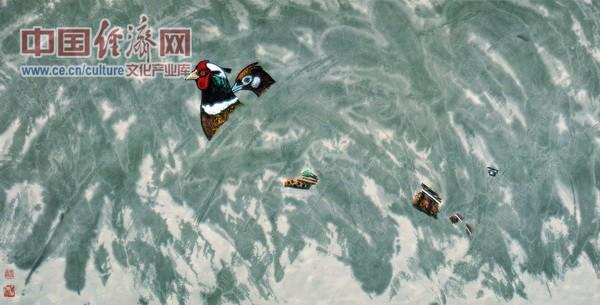 雪域倩影 2004年 68x136cm