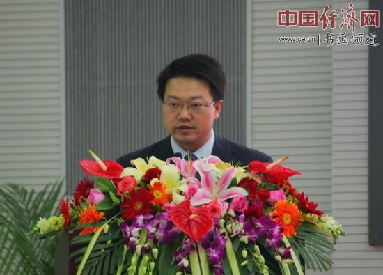 金马甲总裁樊东平博士致辞 中国经济网李冬阳摄