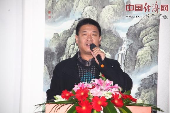 一得阁常务副总经理宋万新致辞 中国经济网记者李冬阳摄