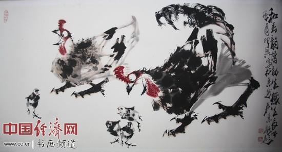 国画大师吴东魁创作的国画新作